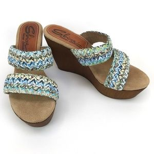 Sbicca Vintage Collection Lighthouse Wedge Sandals